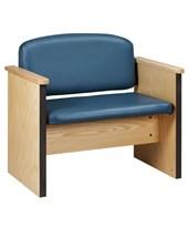 "Bariatric Capacity Arm Chair- 40"" Wide CLIC-604-"