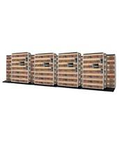 4 Post Trislider Filing System 13 Units - 5/4/4 DATT654LT-4P7-