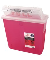 Mailbox Lid Sharps Container DYN4624-