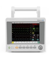 Vital Signs Patient Monitor for Patient Transfer and Continuous Monitoring EDAiM50