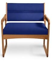 Oak Bariatric Side Chair HAU2165