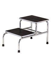 Chrome Two Step Bariatric Step Stool NDCP274240-