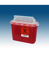 5.4 Qt. BD Compatible Sharps Container PLA143154-