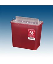 Horizontal Entry Sharps Containers PLA145004-