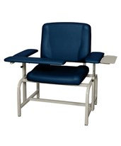 Bariatric Phlebotomy Chair with optional Side Tray UMF8690-