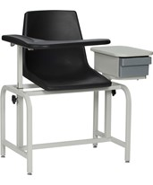 Blood Drawing Plastic Chair with Storage Drawer WIN2570-