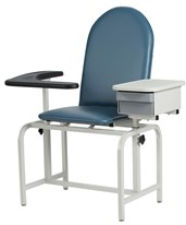 Padded Blood Drawing Chair with Storage Drawer WIN2572