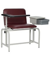Extra Large Padded Blood Drawing Chair with Storage Drawer WIN2574-