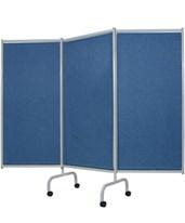 Designer 3 Panel Steel Frame Privacy Screen WIN3170-