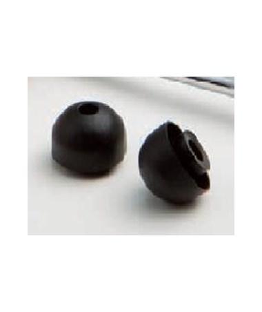 Eartips, Mushroom, Black ADC600-06BK