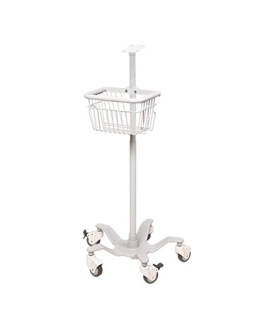 Mobile Stand with Basket for ADView® 2 Monitor ADC9005M