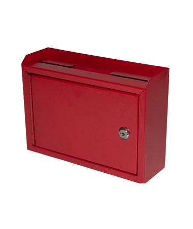 Deluxe Steel Drop Box Red - Front ADI631-02-RED