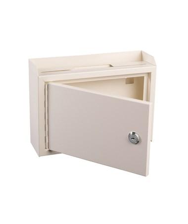 Deluxe Steel Drop Box White ADI631-02-WHI