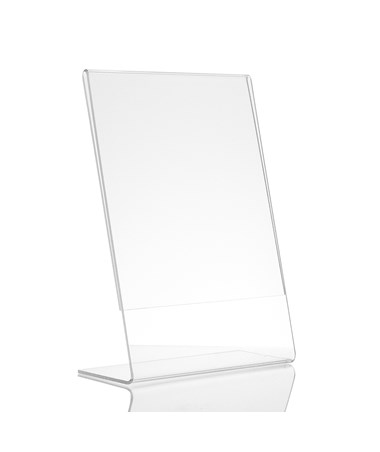 AdirOffice  Acrylic Top-Loading Sign Holder ADI639-46-3