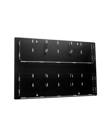Hanging Magazine Rack with Adjustable Pockets ADI640-2923-BLK-