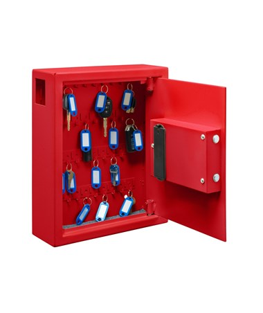 Secure 40 Key Cabinet with Digital Lock - Red ADI680-40-RED with lock