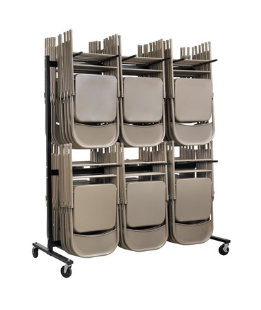 Two Tier Folding Chair Cart ADI690-03