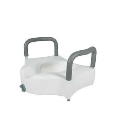 Raised Toilet Seat with Removable Arms and Lock ADI920-00