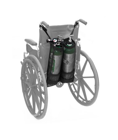 Wheelchair Double  Oxygen Tank Bag ADI995-OX-DDE-W