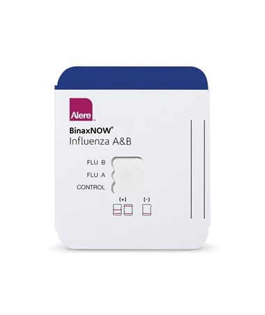Alere BinaxNOW® Influenza A&B Moderately Complex Test Kit - A&B card