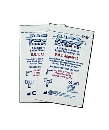 ALCO-SCREEN Alcohol Test ALE55001-25