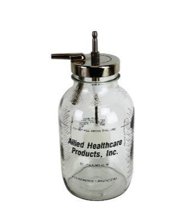 Glass Collection Bottle for Aspirators ALL01-90-3489