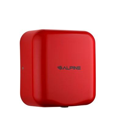 Alpine Hemlock Commercial Hand Dryer - Red