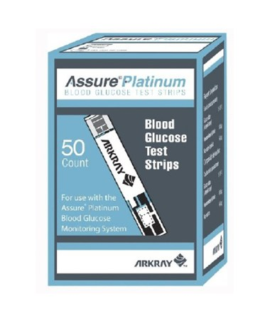 ARK500050-Assure Platinum Test Strips for Assure Platinum Blood Glucose Meter - 50 Pack
