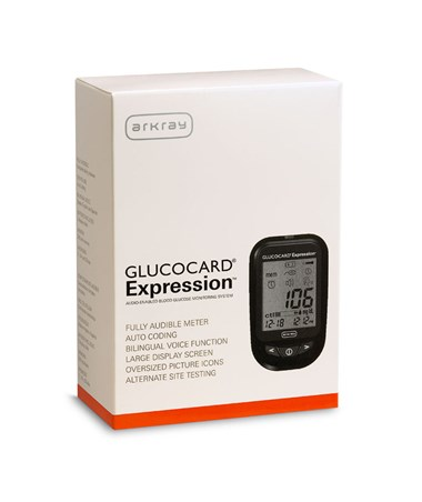 ARK570001- GLUCOCARD Expression Meter Kit - Carton