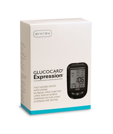ARK570001- GLUCOCARD Expression Meter Kit - Basic Kit