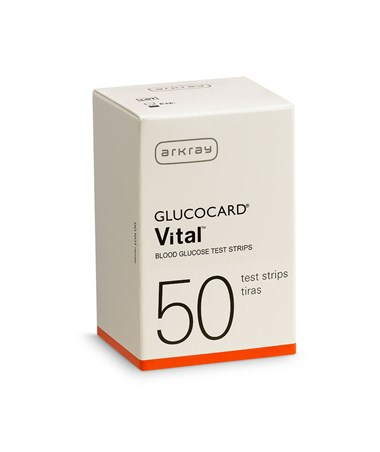 ARK760050- GLUCOCARD Vital Test Strips for Vital™ Blood Glucose Monitoring System - Retail