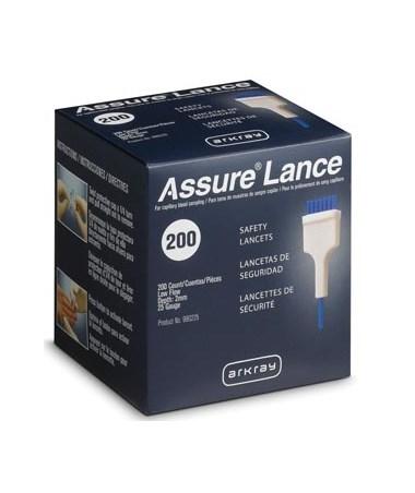 ARK980225-ASSURE Lance Lockout Safety Lancets -Assure Lance Low Flow 200 per box