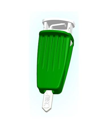 ARK980225- ASSURE Lance Lockout Safety Lancets - Assure Lance Normal Flow Dark Green