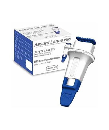 ARK990125- Assure® Lance Plus Safety Lancets - Package
