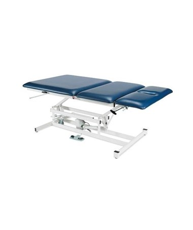 """ARMAM334- Hi-Lo Bariatric Treatment Table with Three Section Top - 40"""" wide"""