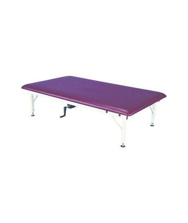 ARMAM642- Manual Hi-Lo Mat Treatment Table - One Piece Table