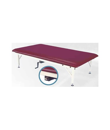 ARMAM642- Manual Hi-Lo Mat Treatment Table - Height Adjustment Handle