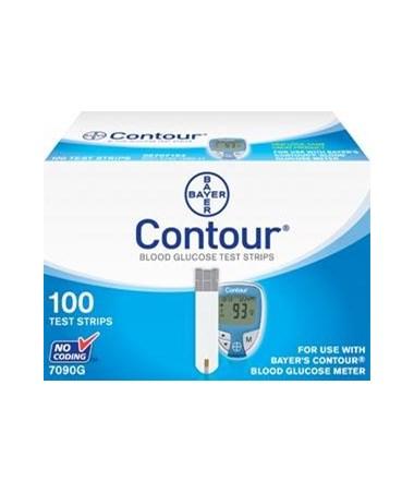 CONTOUR® Blood Glucose Test Strips BAY7080G