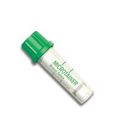 Microtainer® Blood Collection Tube with Lithium Heparin