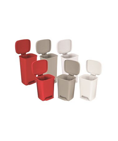 Rectangular Plastic Waste Can Family