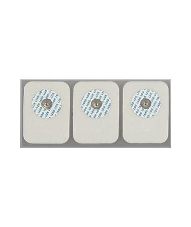 3-Pack Foam ECG Electrodes