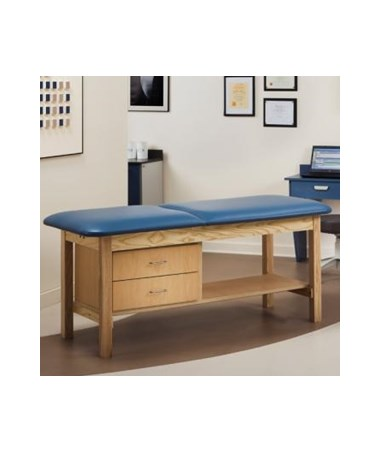 Clinton 1013 ETA Classic Series Treatment Table with Drawers