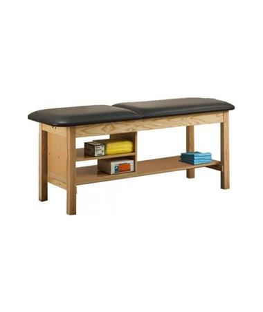 Clinton 1030 ETA Alpha Series Treatment Table with Full Shelf