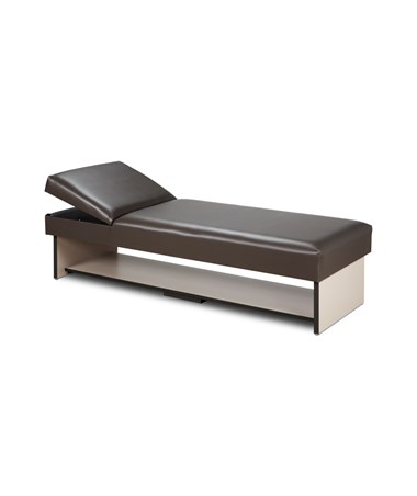 Clinton 3710 Panel Leg Recovery Couch with Full Shelf