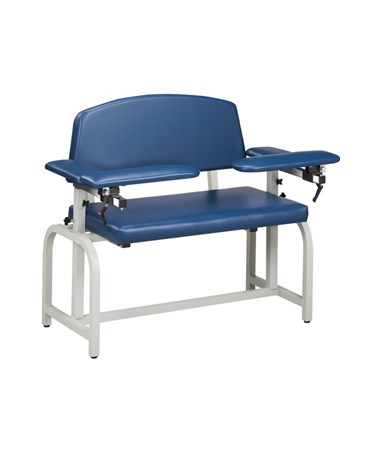 Extra Wide Blood Drawing Chair with Flip Arms CLI6000X-F