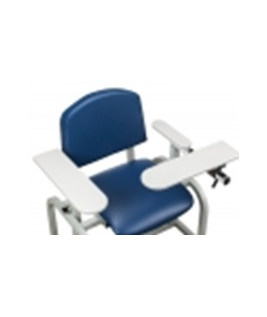 665 ClintonClean Solid Plastic Armrest, Stationary Armrest Straight Flip Arm(s)