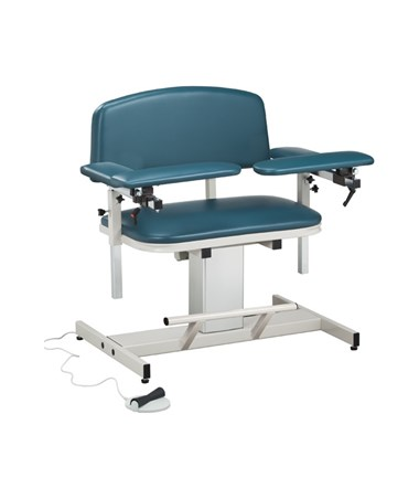 Power Series Extra-Wide Blood Drawing Chair with Padded Arms CLI6351