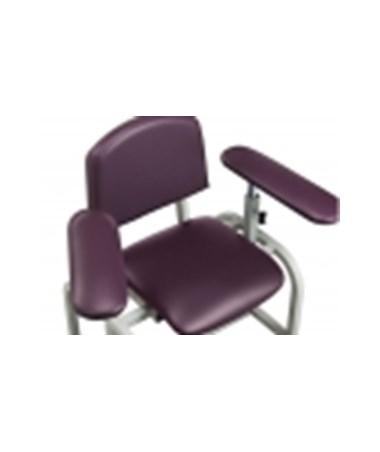 Upholstered Padded Armrest, Rotating Armrest, Straight Arm(s)