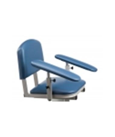 Upholstered Padded Armrest, RotatingArmrest, Sloped Arm(s)