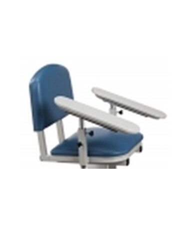 669 ClintonClean Solid Plastic Armrest, Rotating Armrest, Sloped Arm(s)